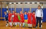 Skupina nogometašev pod vodstvom trenerja Aleša kaže viden napredek