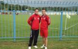 Aleš in Matej sta skupaj v dresu Zarice zabila 80 golov.