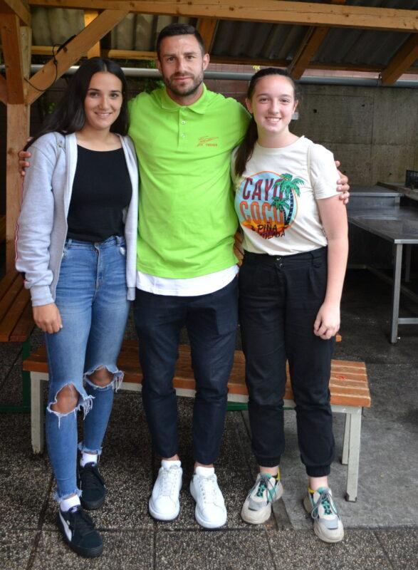 Nika, Bojan in Kristina